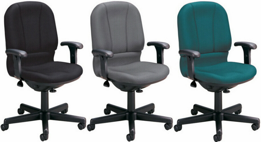 computer chairs ofm office computer chair with contoured back and seat [640] XBWLCIQ